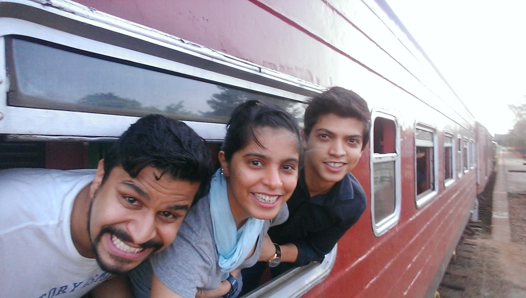 Train from Colombo to Trincomalee