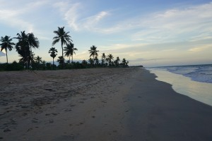 Nilaveli Beach in evening, Trincomalee