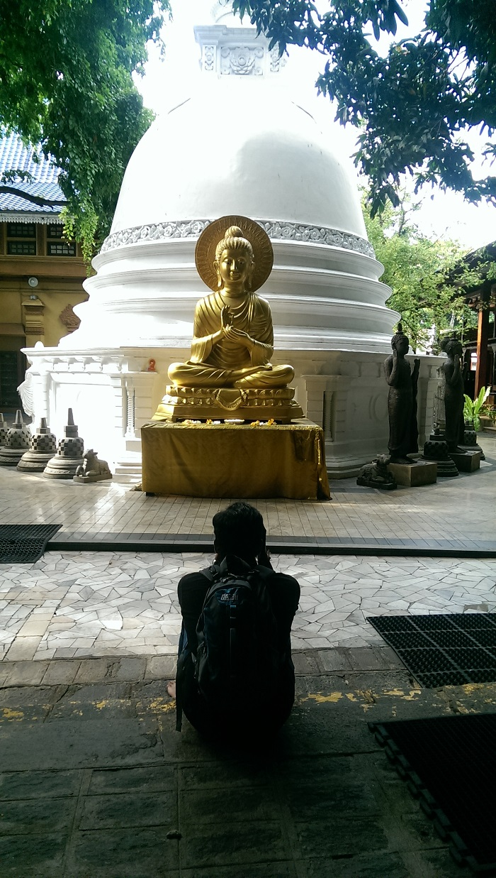Budha in Colombo