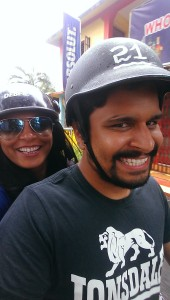 Scooty in Goa