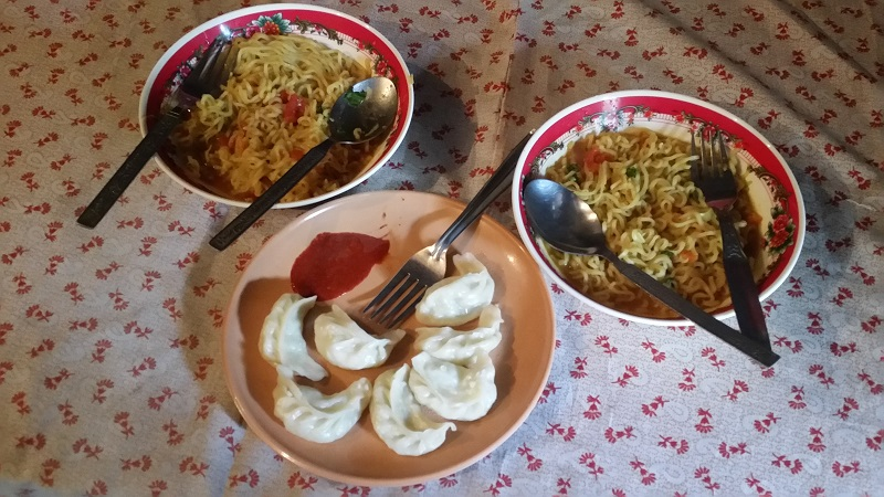 Momos and Maggi, Sikkim