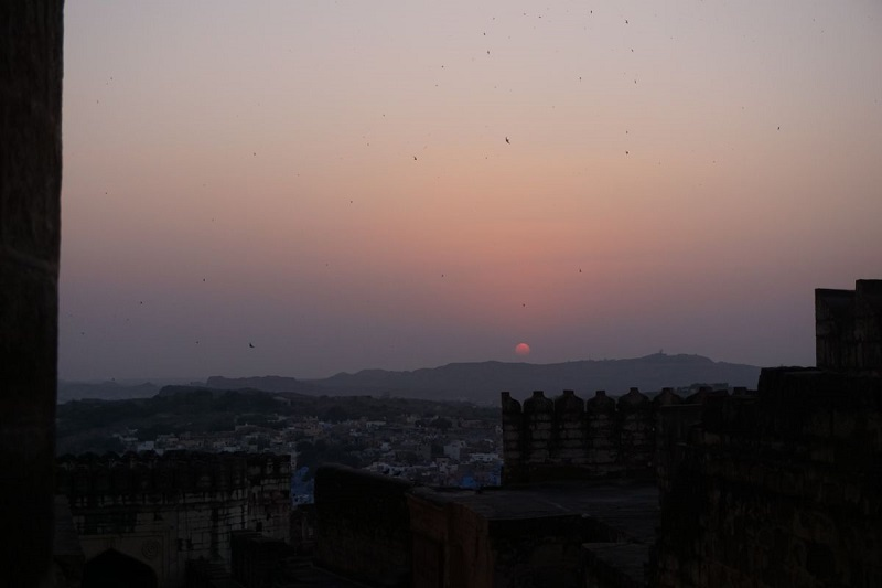 Sunset at Jodhpur