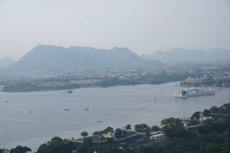View from Ropeway, Udaipur