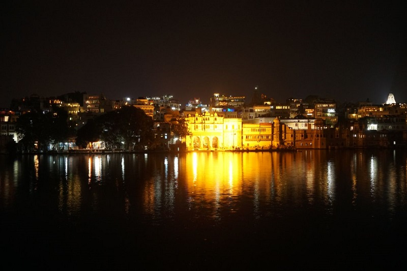 Lake VIew from Hotel, Udaipur