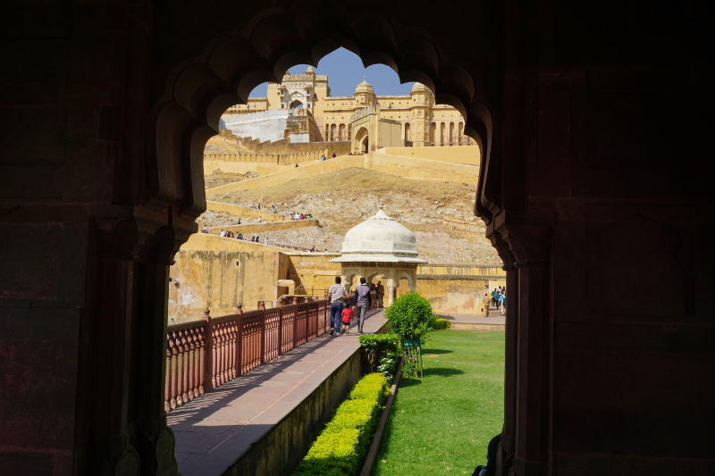 Amer fort, Rajasthan, Insia