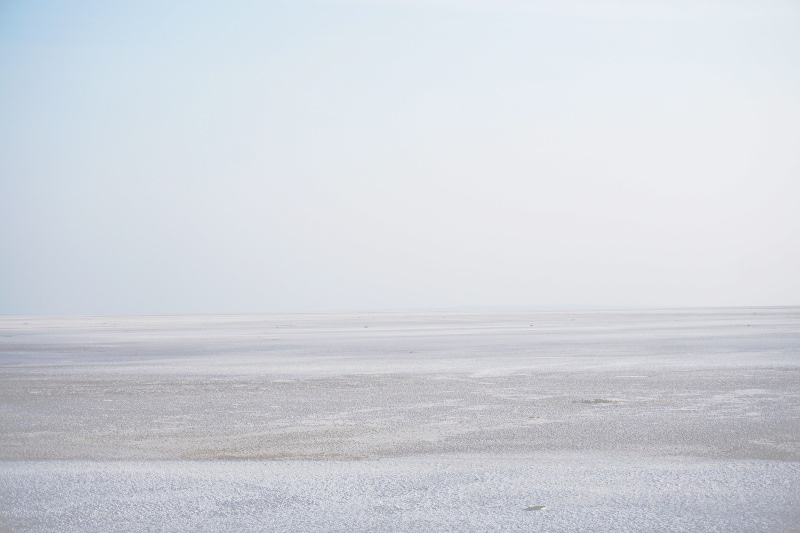 Salt pan, Rann of Kutch, Gujarat