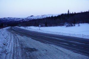 Elliott Highway, way to Artic Circle