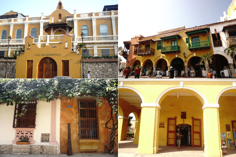 Cartagena Buildings, Colombia