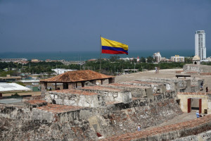 Castillo de San Phillipe Barajas, Cartagena, Colombia