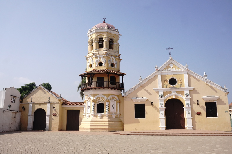 Church of Santa Babara, Mompox, Colombia