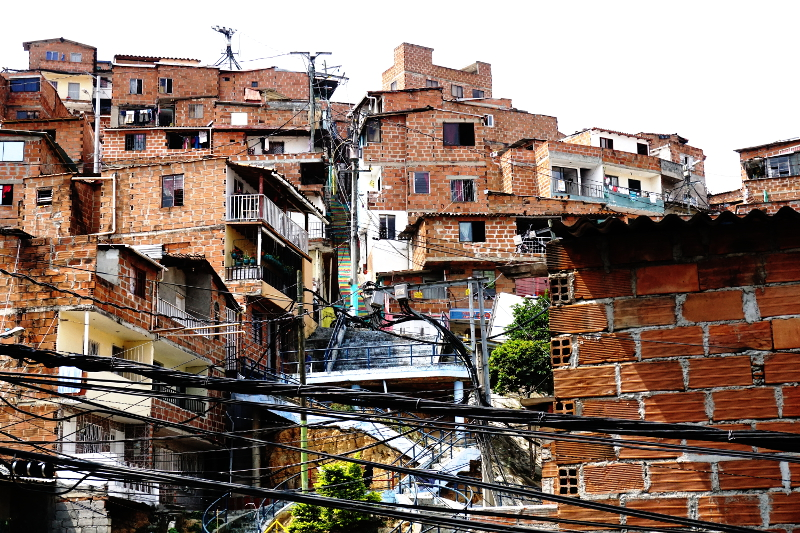 Slums of Medellin