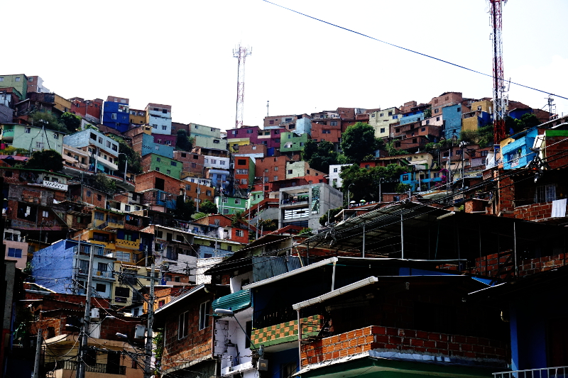 Comuna 13, Slums of Medellin