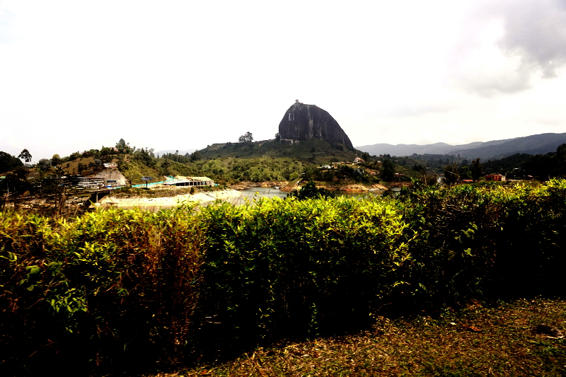 La Piedra, The Rock, Guatape, Colombia