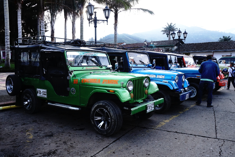 Willys, Salento, Colombia