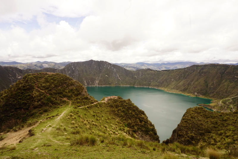 Hike to Chugchilan from Quilotoa Lake