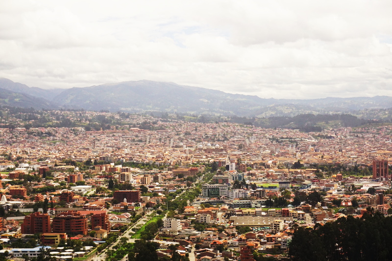 View of city, Cuenca