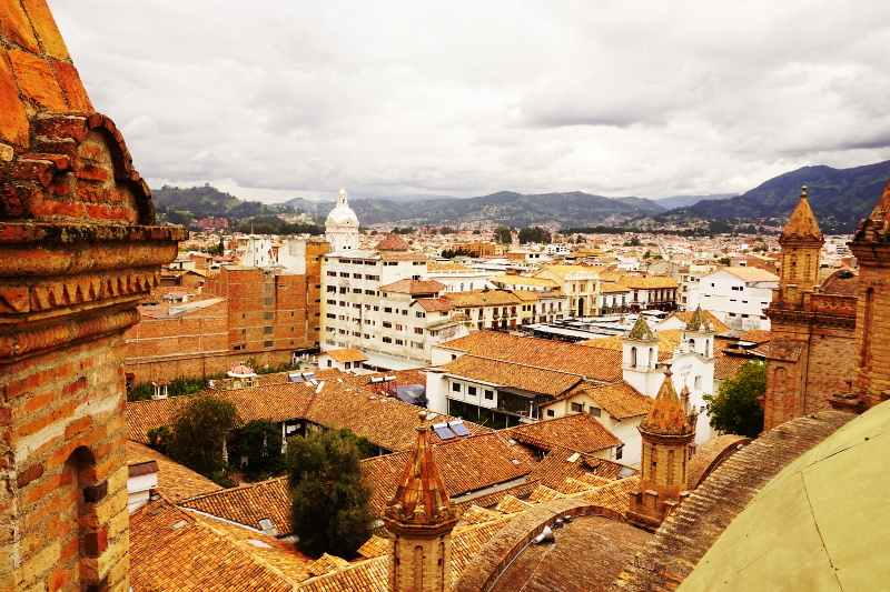 Top of the Cathedral, Cuenca