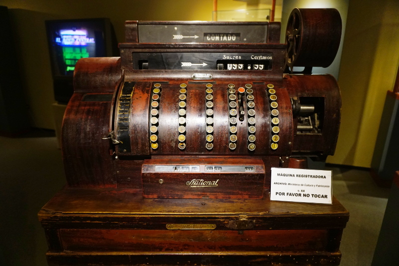 Old cash register, Cuenca