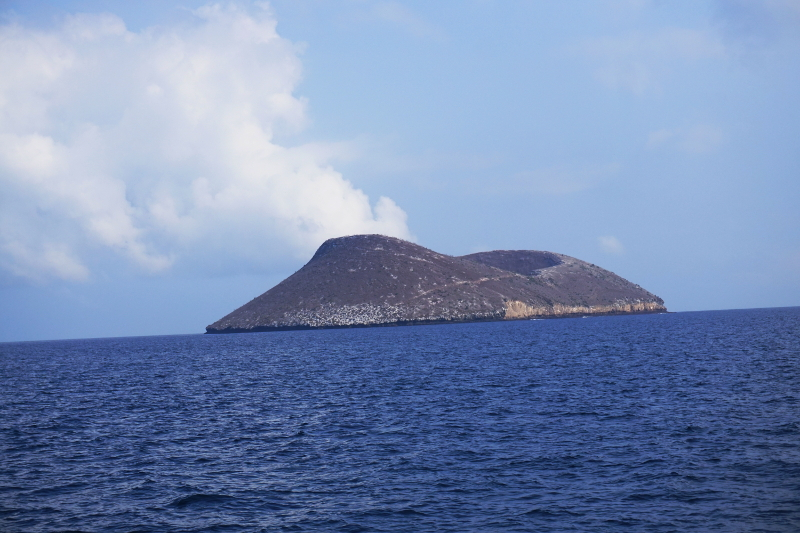 Daphne Volcano, Galapagos Islands