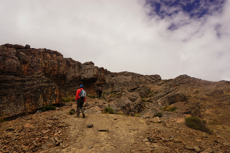 Hiking to Pico Tunari, Cochabamba