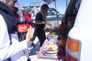 Day 1 lunch, Salar De Uyuni