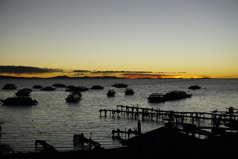 Sunset at Lake Titicaca, Copacabana