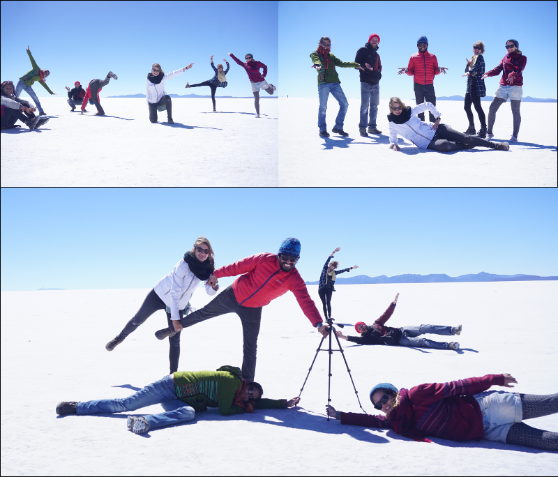 Tour Group, Salar de Uyuni