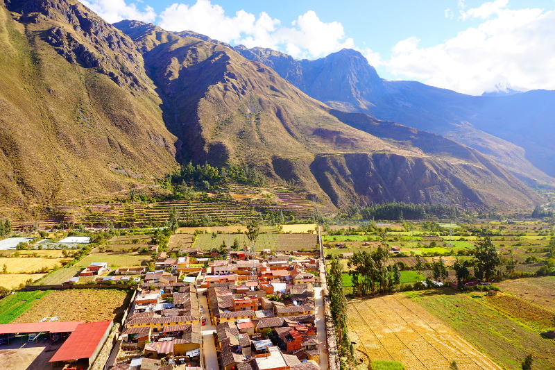 Ollantaytambo Village, Sacred Valley, Peru