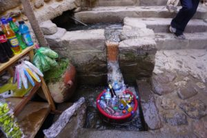 Cooling drinks, Ollantaytambo, Sacred Valley, Peru