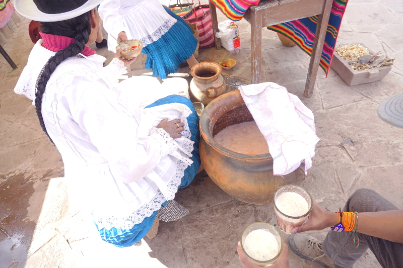 Chicha, Local Beer, Sacred Valley, Peru