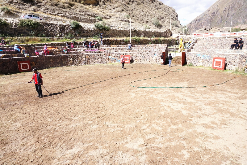 Bullfight Ring, Ollantaytambo, Sacred Valley, Peru