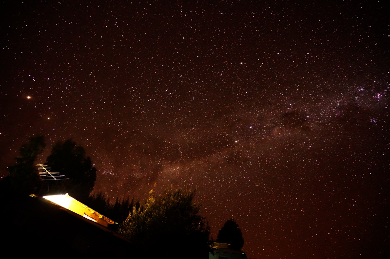 Night Sky, Isla Amantani, Lake Titicaca