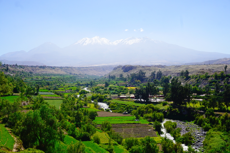 Beautiful view, Arequipa, Peru