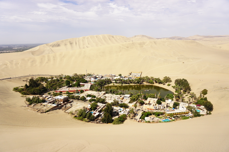 Up the dune, Huacachina, Ica, Peru