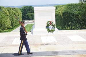 Tomb of Unknown Soldier, Arlington Cemetery, Washington DC
