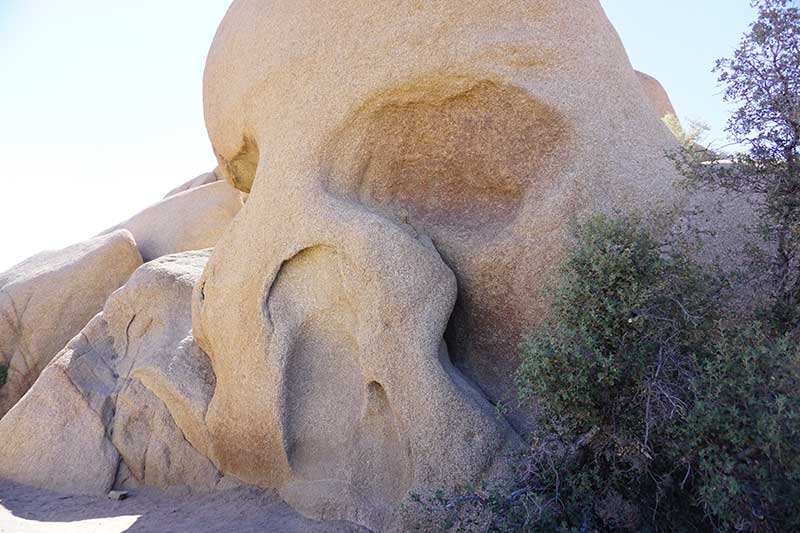 Skull Rock, Joshua Tree National Park, California