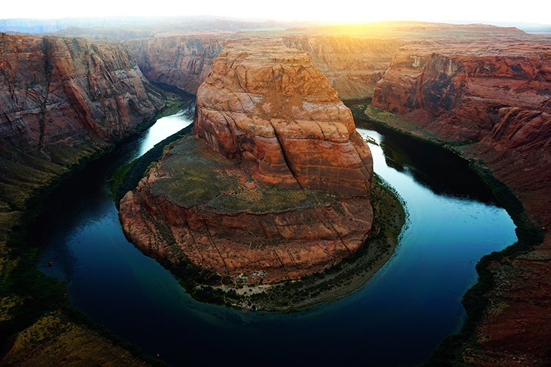 Horse Shoe Bend, Page, Navajo Nation, Arizona