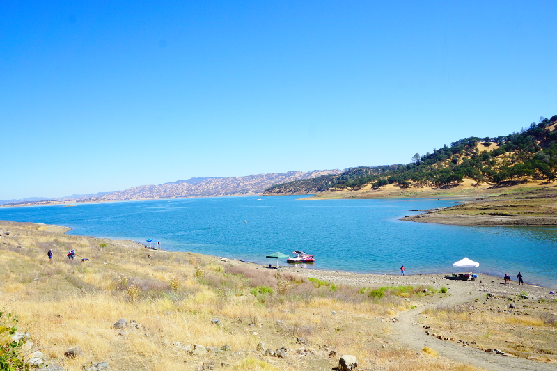 Lake Berryessa, California, USA